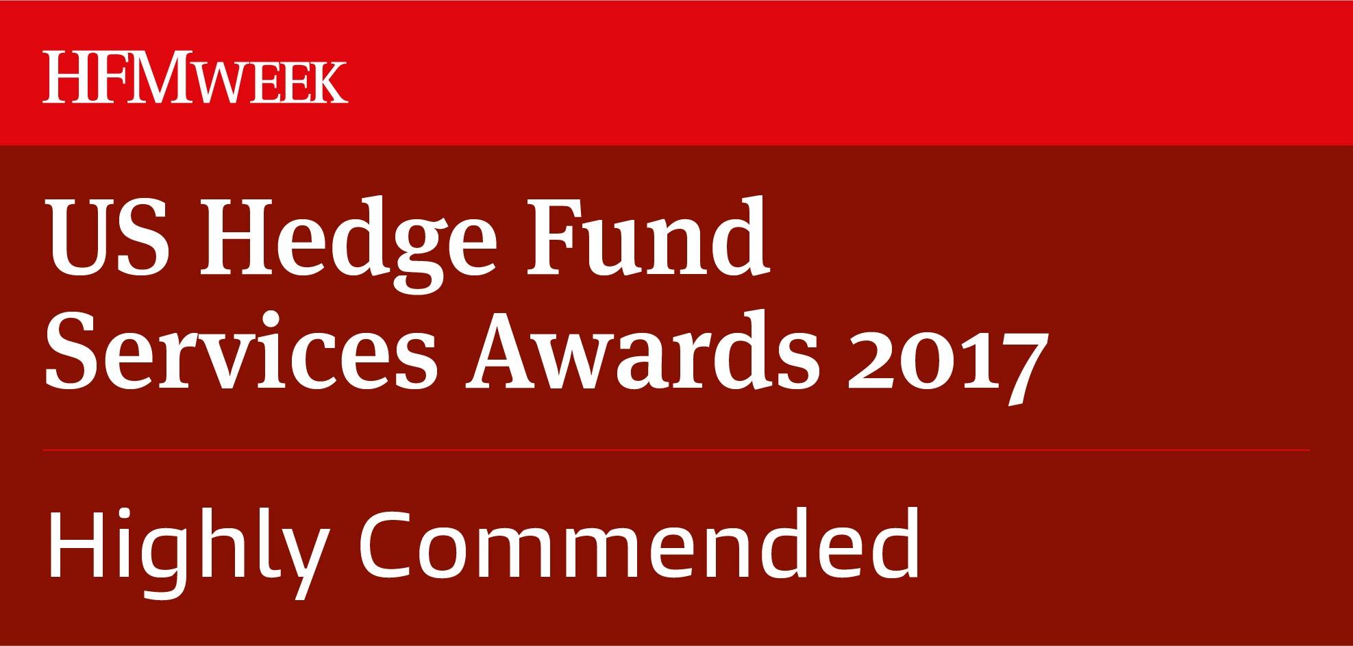 HFMWEEK US HEDGE FUND SERVICES AWARDS 2017