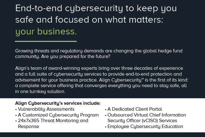 Align Cybersecurity Services, HFMWeek
