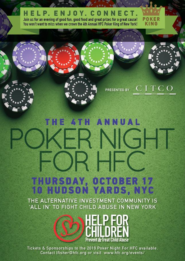 4th Annual HFC Poker Tournament